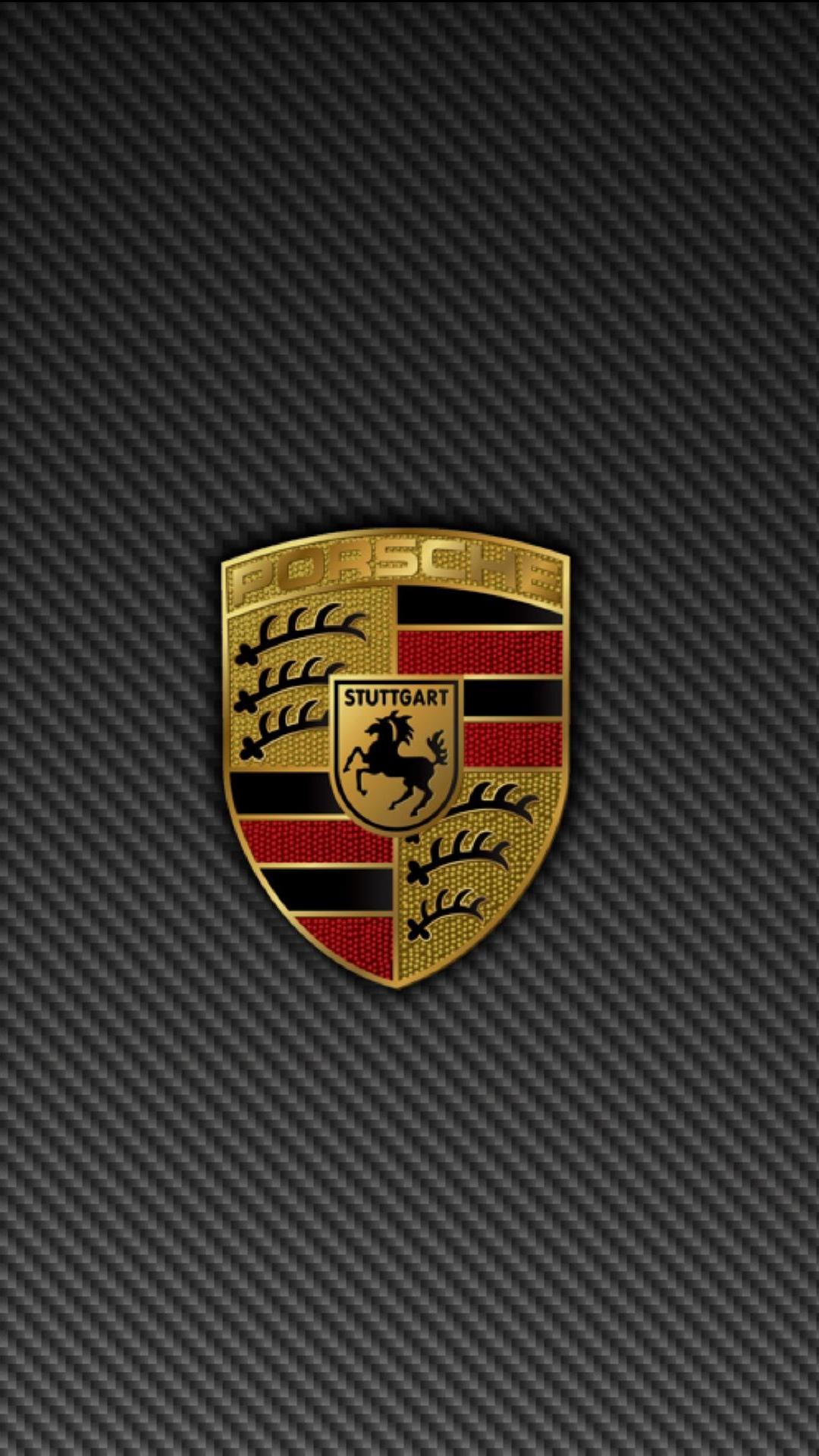 Porsche Logo Wallpaper 1080x1920
