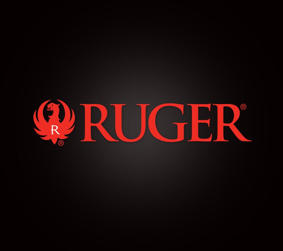 Ruger Logo on Black 960x854