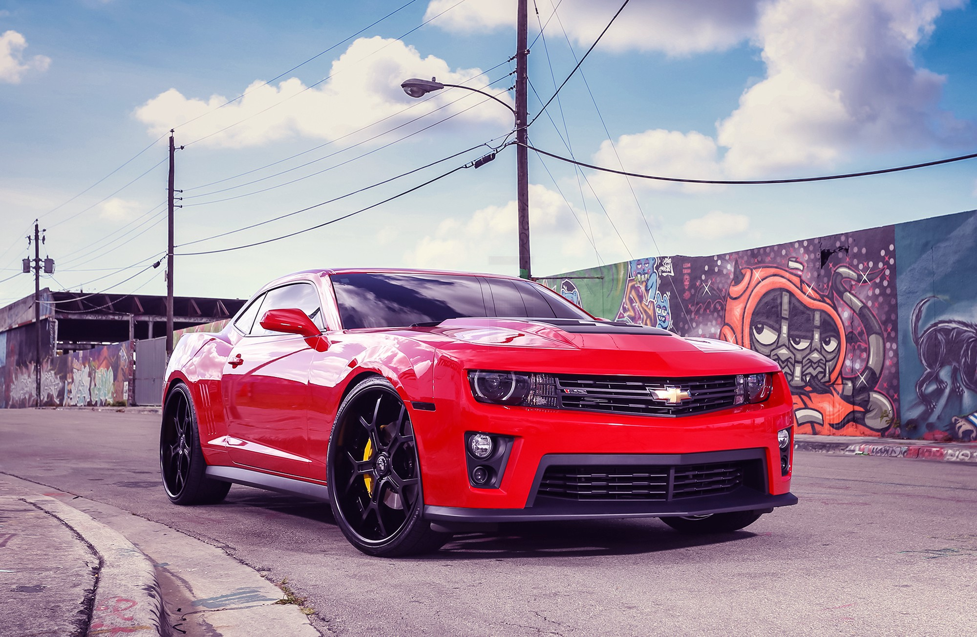 2017 Chevrolet Camaro ZL1 Convertible   New HD Wallpapers 2000x1303
