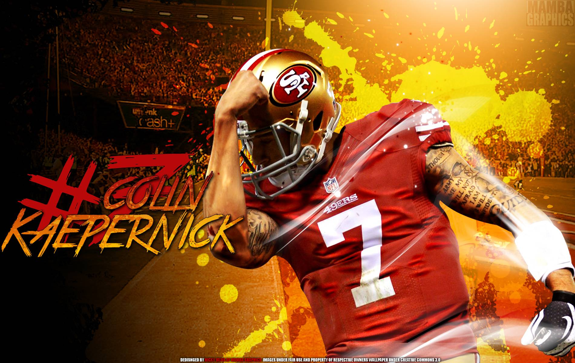 Colin Kaepernick 49ers Wallpapers 1900x1200
