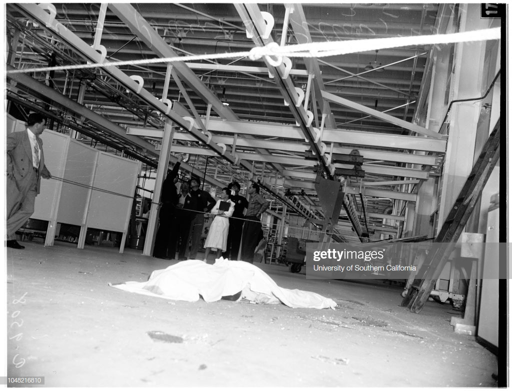 Douglas worker killed by fall 05 March 1952 Robert S Piller 1024x782