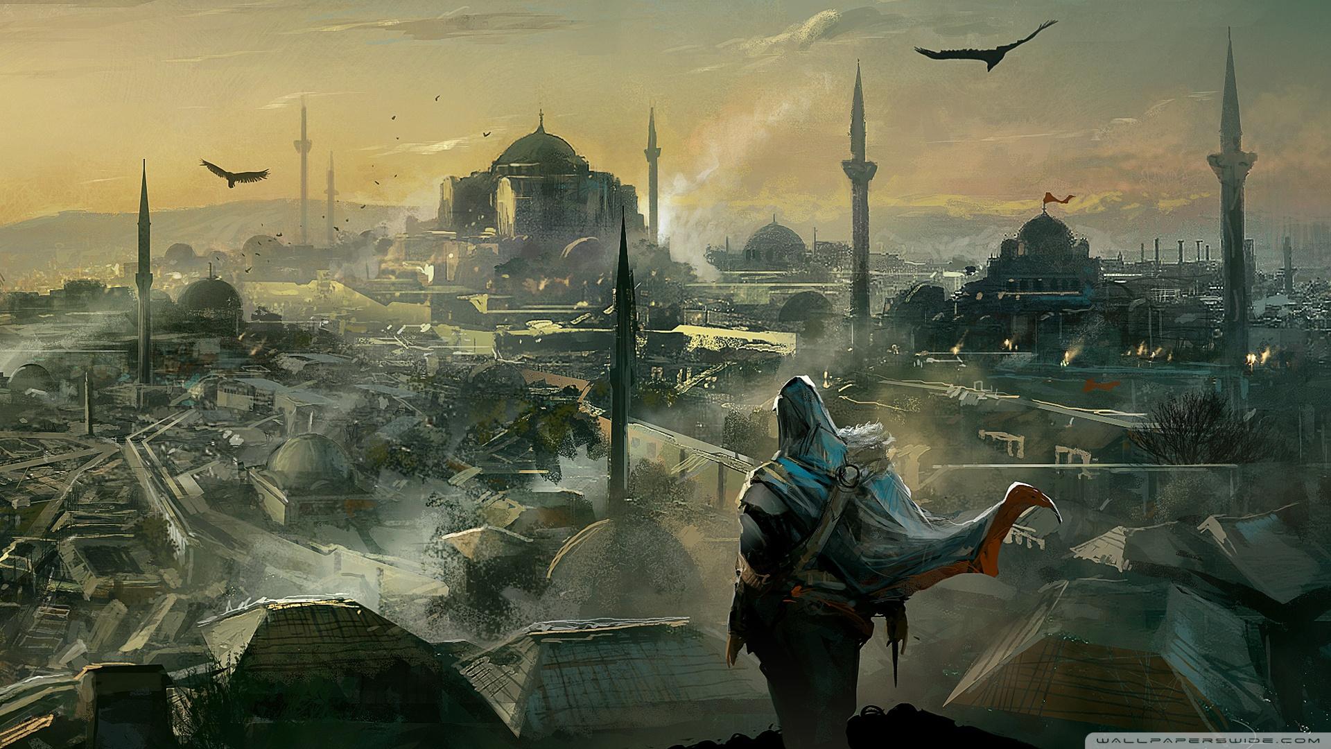 Free Download Assassins Creed Revelations Ezio Wallpaper 1920x1080