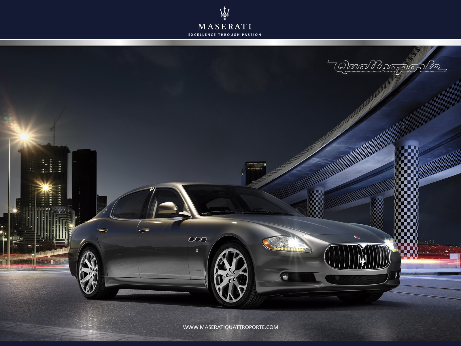 Maserati Logo Wallpaper 1600x1200
