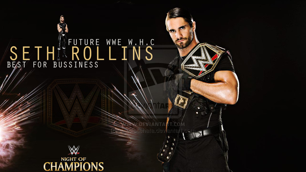 Wallpaper 2015 Seth rollins future wwe