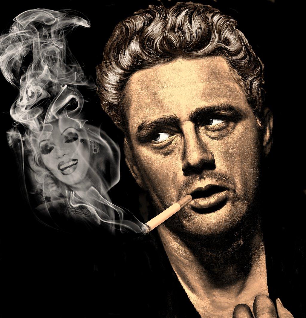 Marilyn Monroe James Dean Wallpaper Wallpapersafari
