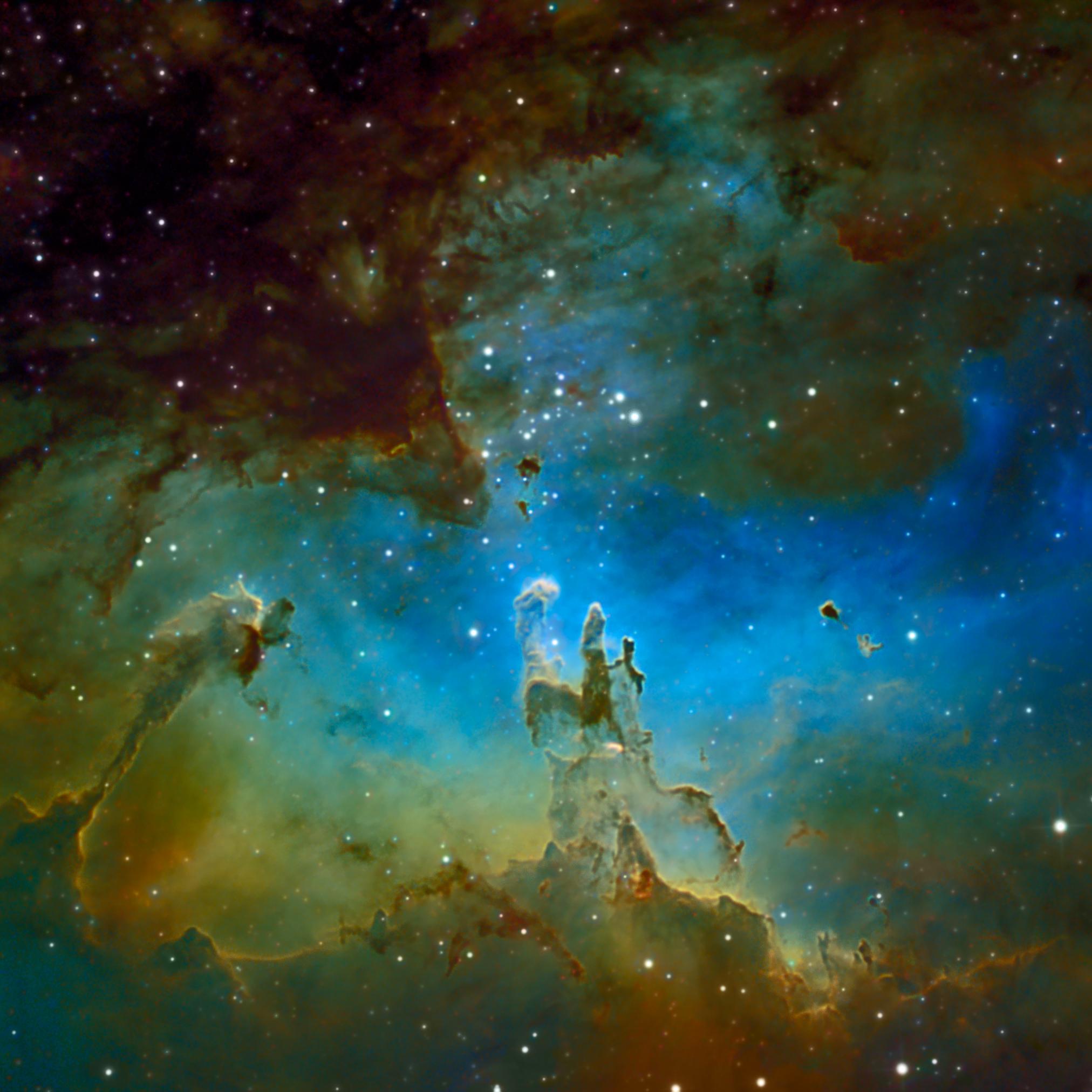 The Eagle Nebula M16 in Serpens   Astronomy Magazine 2024x2024