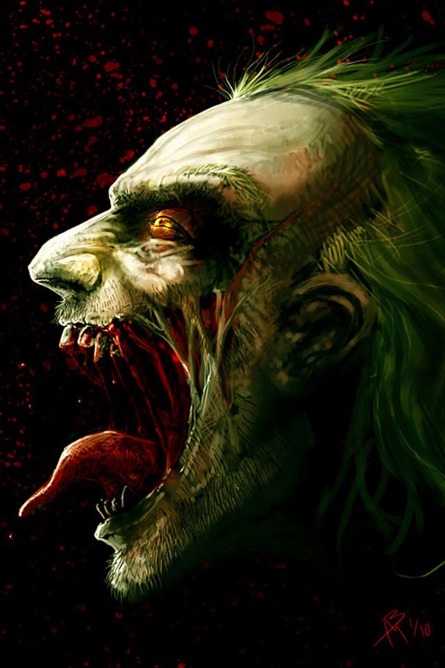 Evil Joker Wallpaper - WallpaperSafari