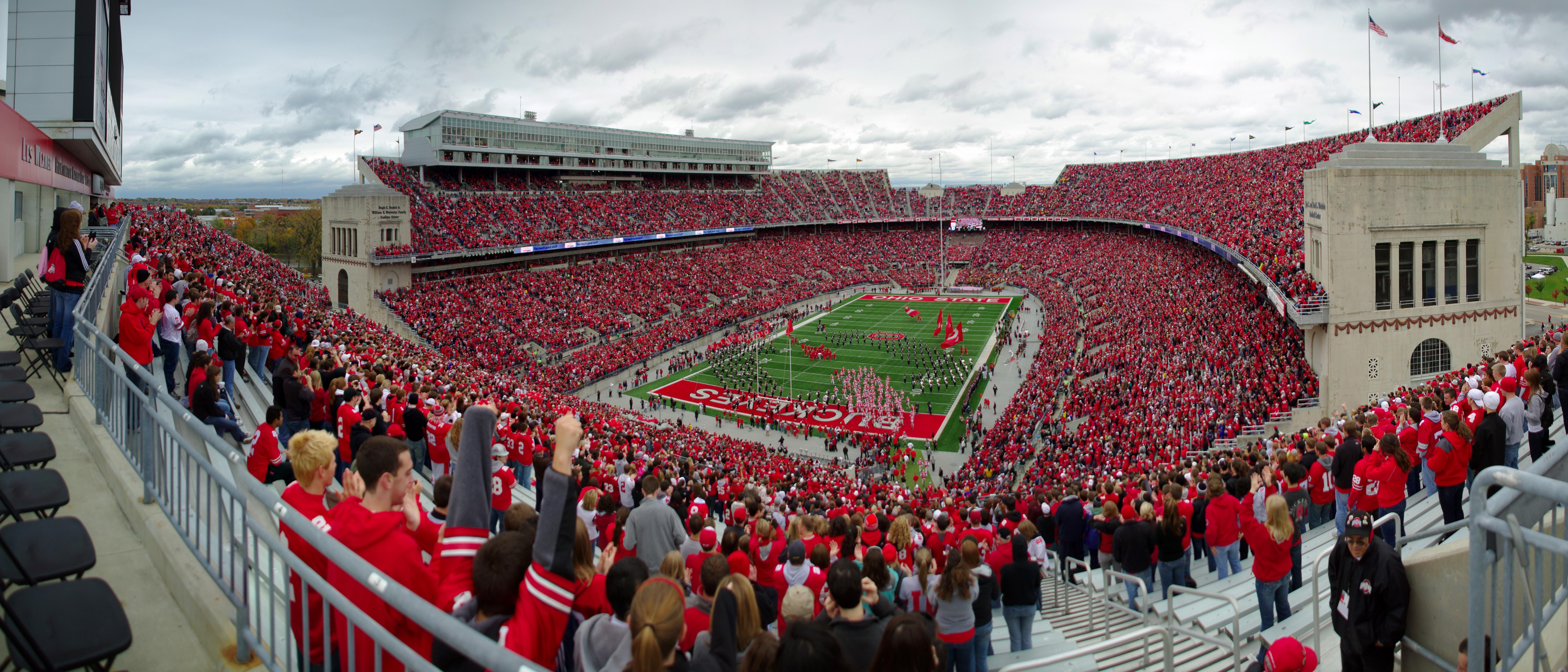 Ohio State Football Wallpaper >> Ohio Stadium Wallpaper - WallpaperSafari