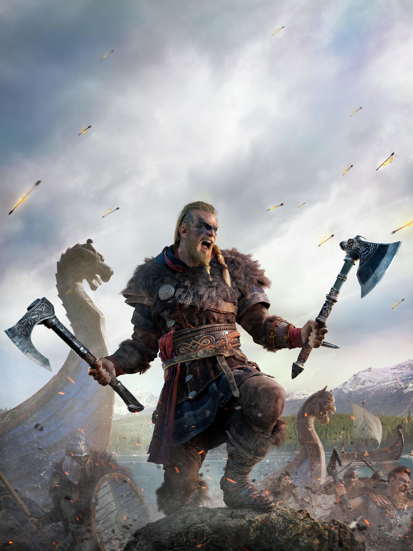 4K Assassins Creed Valhalla Vikings Wallpaper HD Games 4K 4166x5556