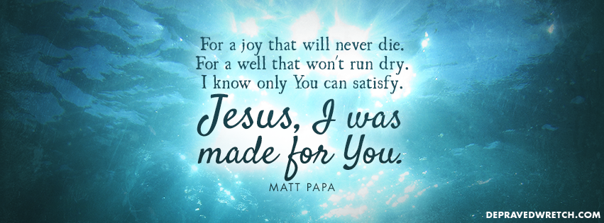 Made For You [Christian Facebook Timeline Cover Photo] 851x315