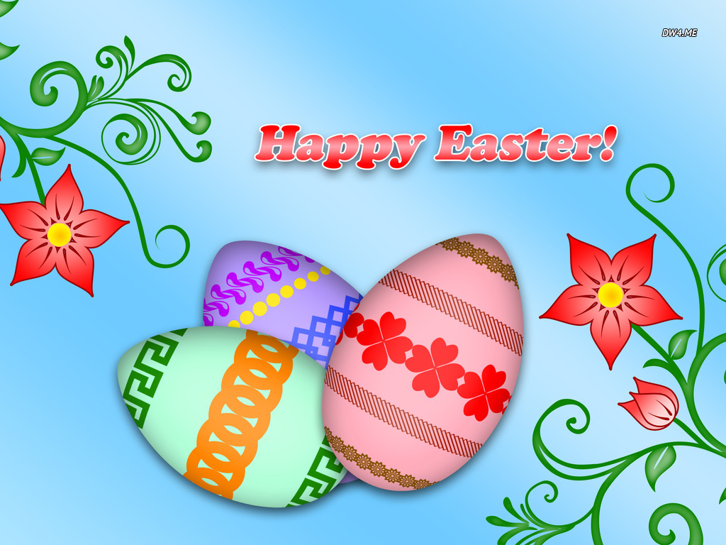 Happy Easter wallpaper   Holiday wallpapers   1264 1024x768