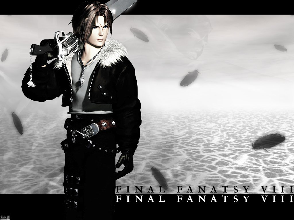 Final Fantasy Viii Squall Leonhart New Hd Wallpaper retrodragon 1024x768