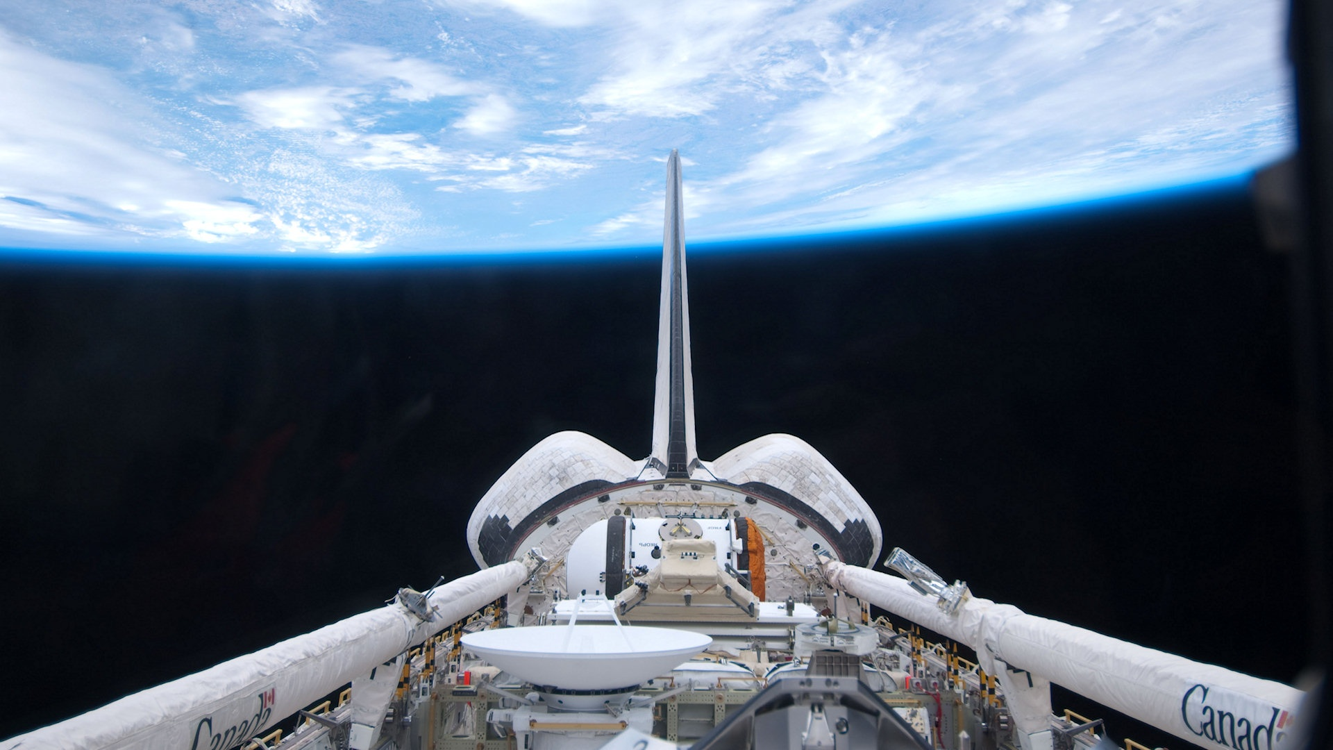 hd space shuttle in space - photo #15