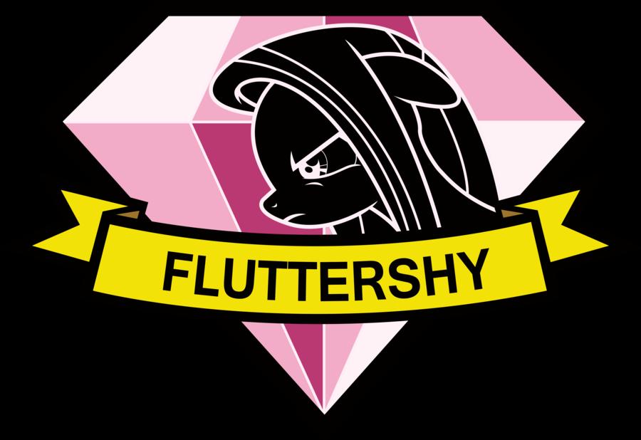 Diamond Dogs patch   Fluttershy by Th3Anim8er 900x618