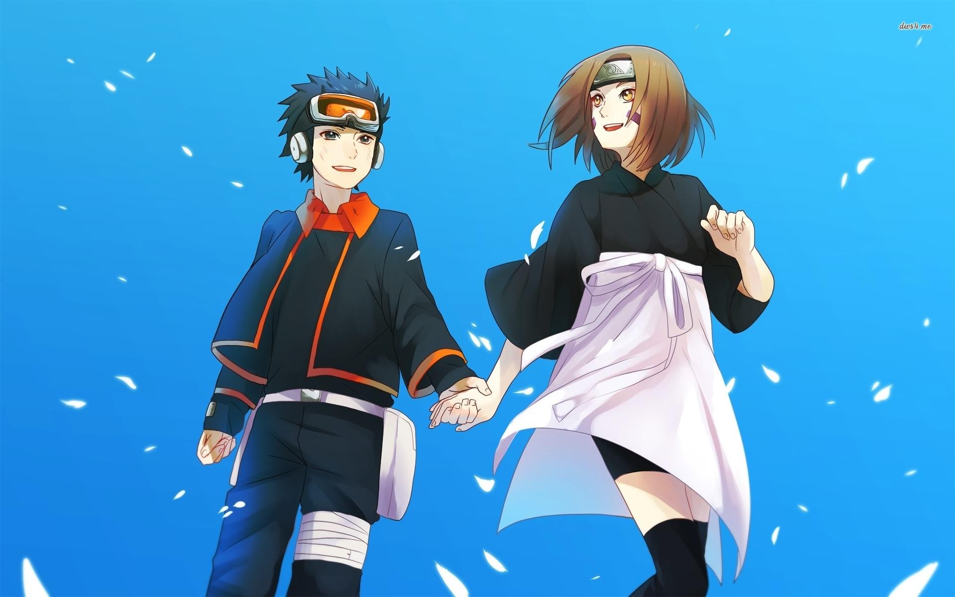 Rin Nohara and Obito Uchiha   Naruto wallpaper   Anime wallpapers 1920x1200