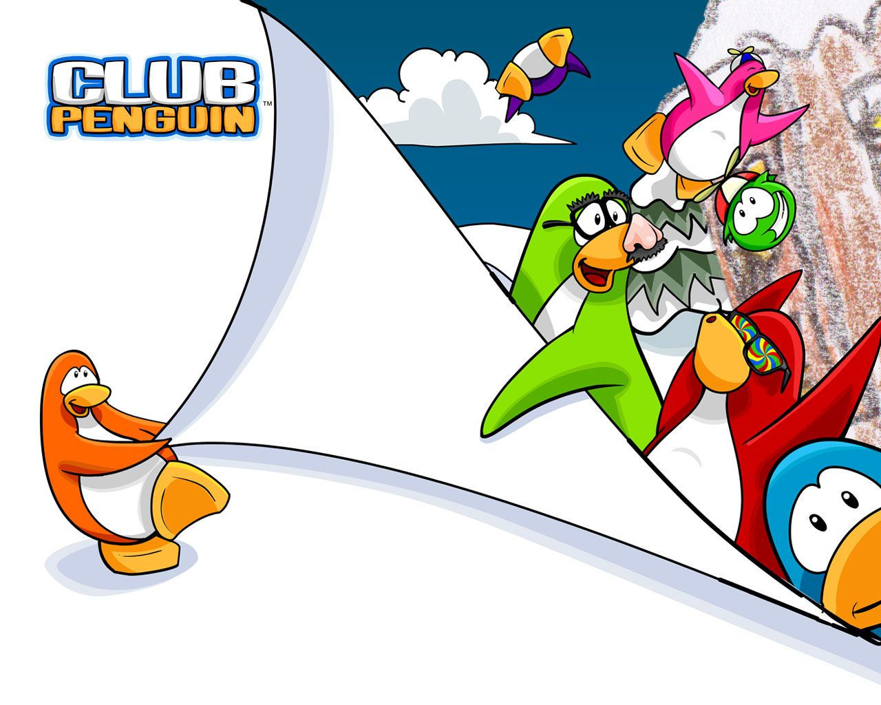 Club Penguin 101 club penguin Club penguin Penguins 1280x1024