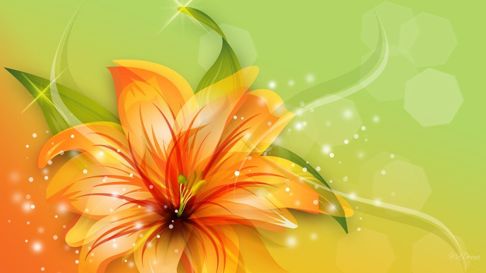 Tiger Lily Wallpapers 1920x1080