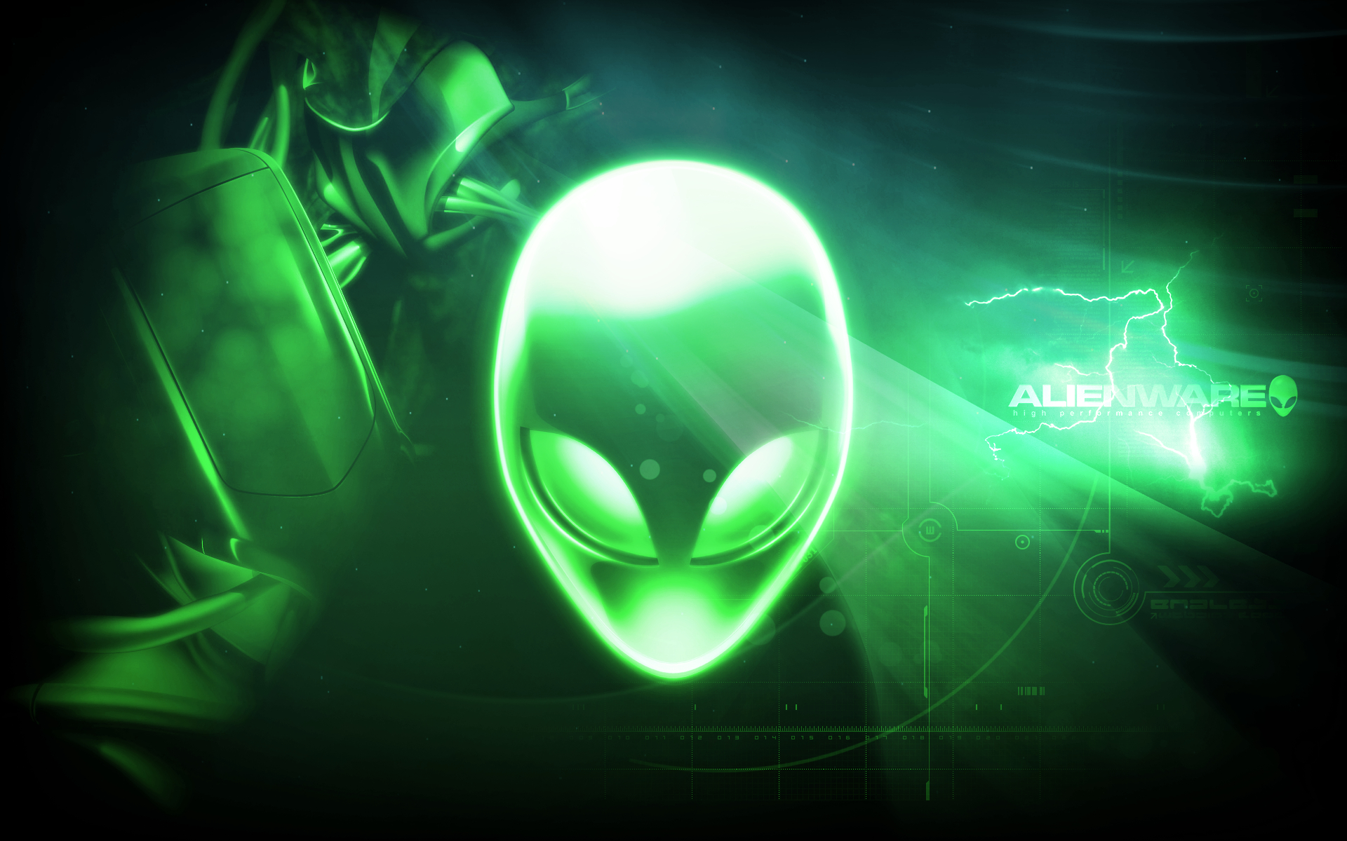 Promise Reloaded Alienware Desktop Green wallpapers HD   120791 1920x1200