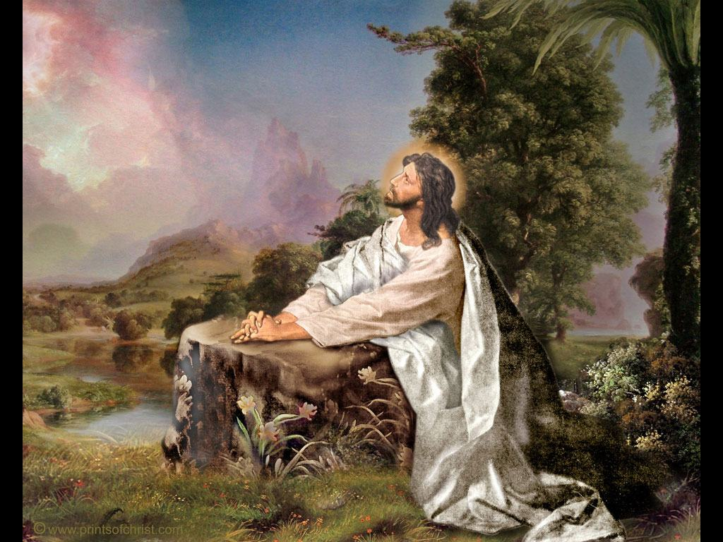 Jesus Praying Wallpaper HD Wallpapers Backgrounds Jesus praying 1024x768