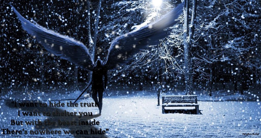 Beautiful winter night wallpapers 1024x768 by Nightchild013 on 1024x543