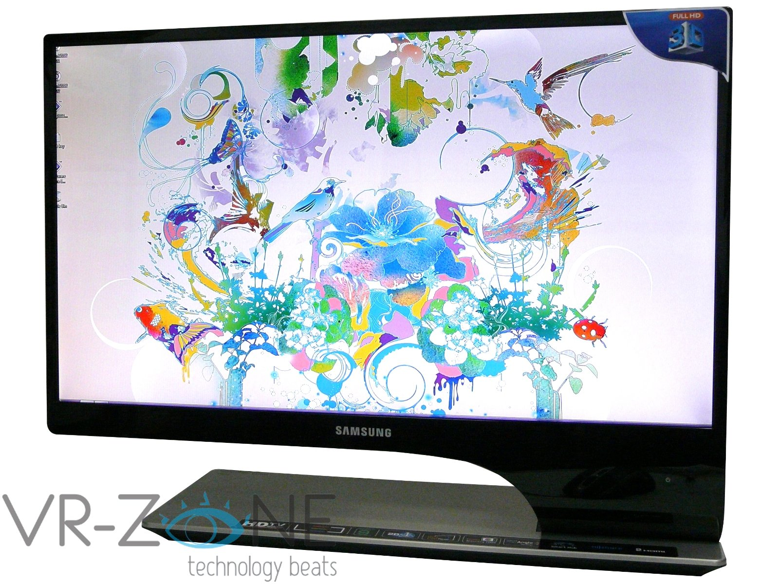 Samsung Series 9 TA950 3D LED HDTV monitor review As good as it looks 1600x1200
