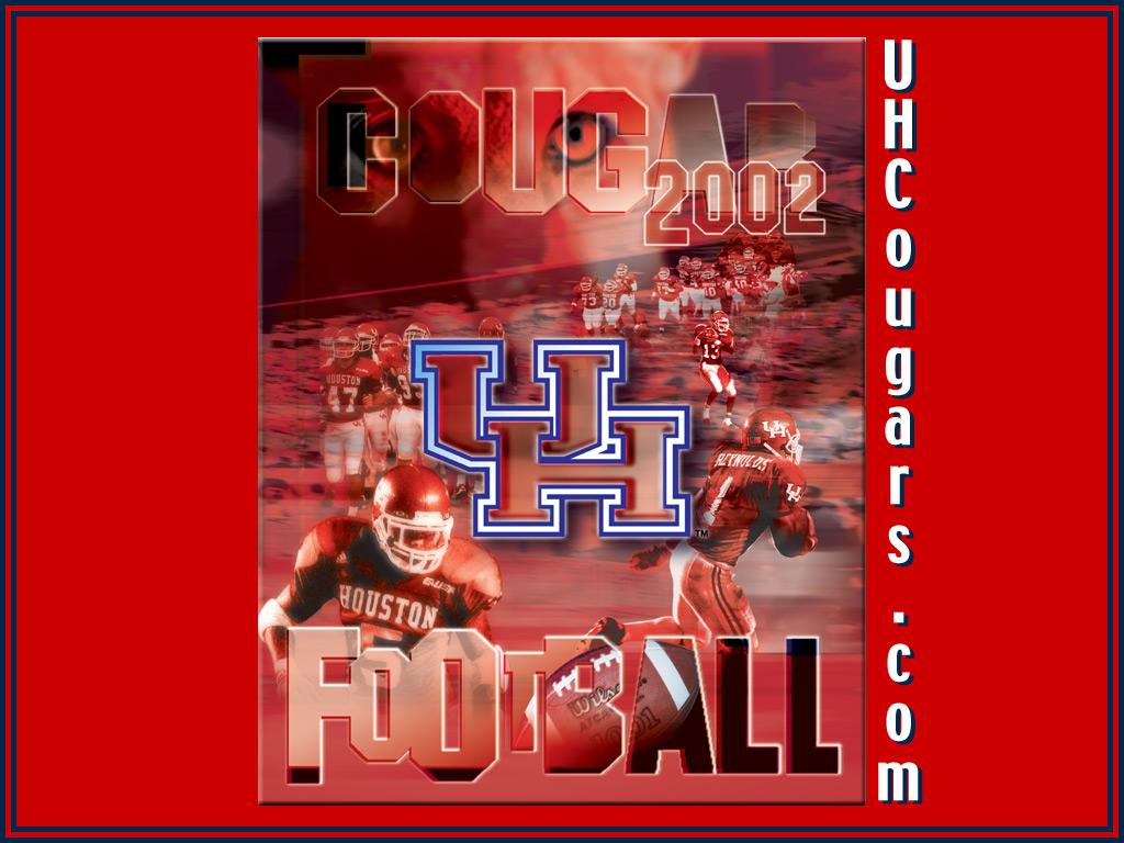 2002 Desktop Wallpaper   University of Houston Athletics UH Cougars 1024x768