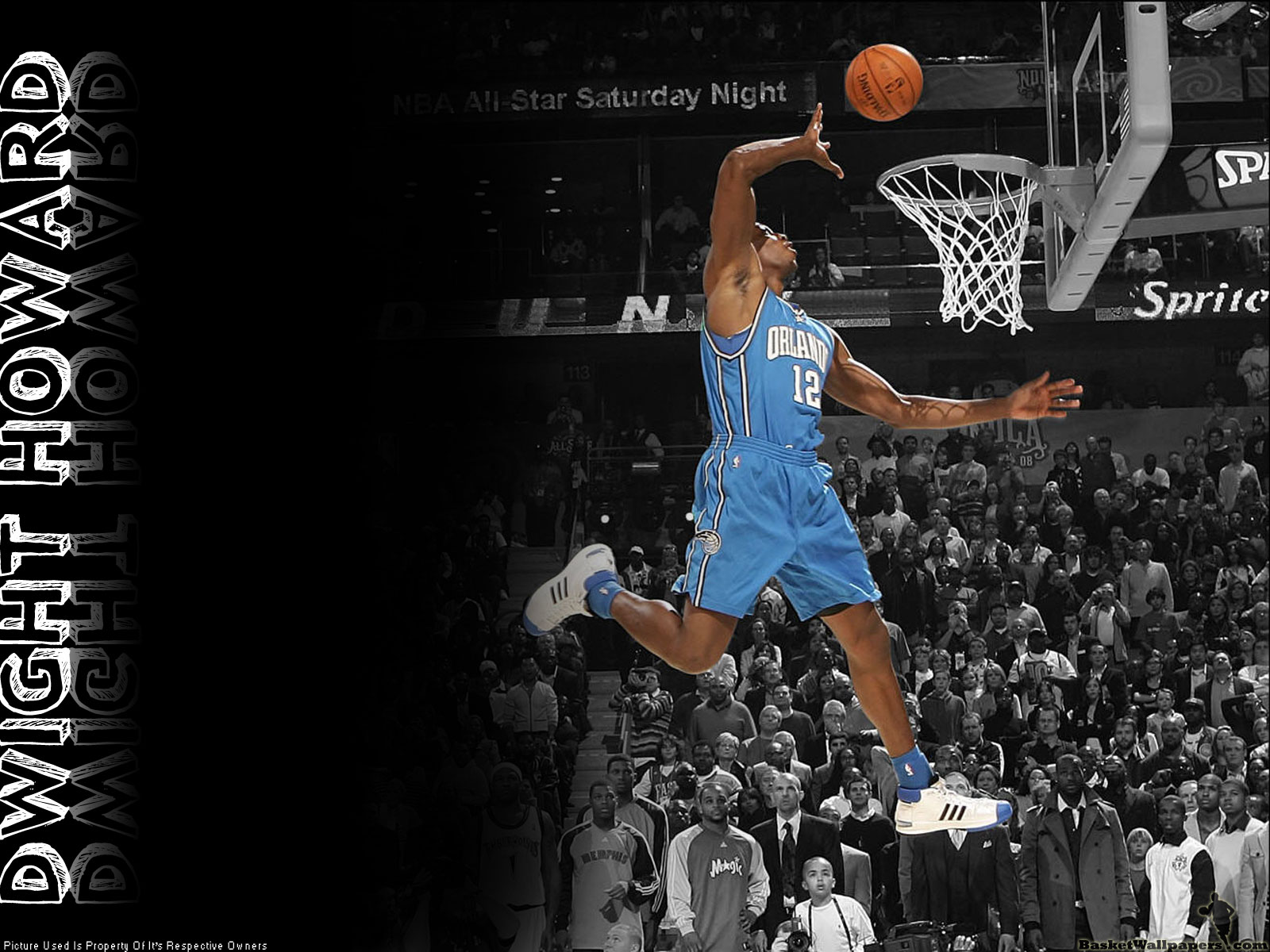 Dwight Howard Slam Dunking Wallpaper NBA Picture Gallery 1600x1200