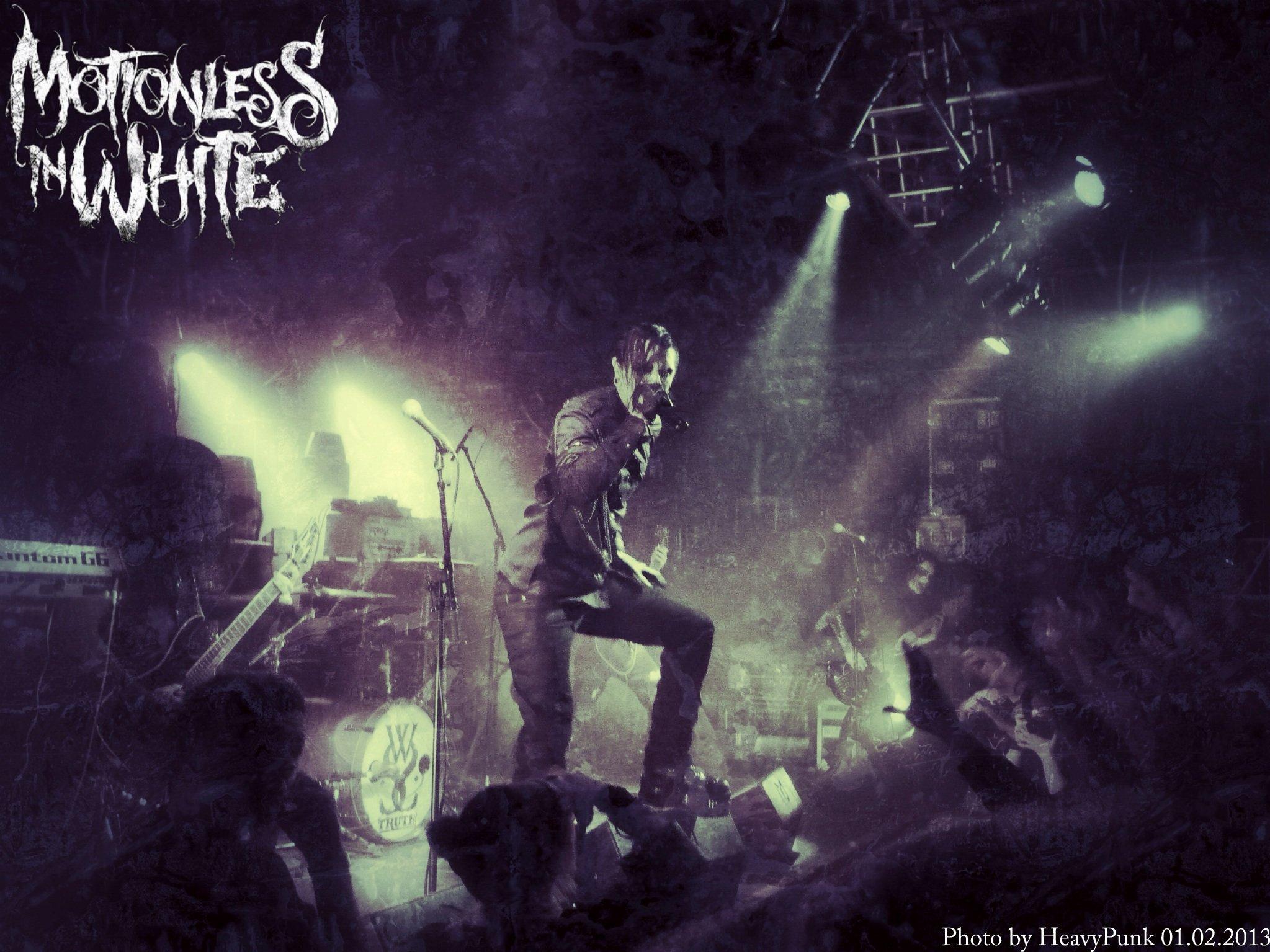 MOTIONLESS In WHITE metalcore heavy metal hard rock 1miw industrial 2047x1535