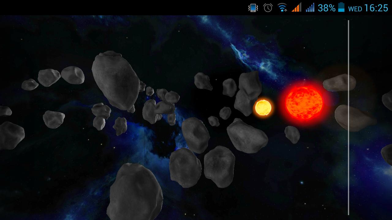 Asteroid Field   screenshot 1280x720
