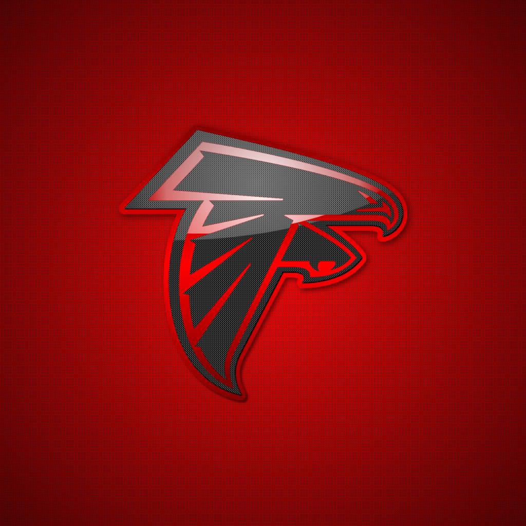 Atlanta Falcons Team Logos iPad Wallpapers Digital Citizen 1024x1024