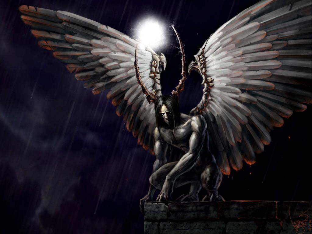 Anime Dark Angels Wallpaper Dark Angel Anime Wallpaper 1024x768