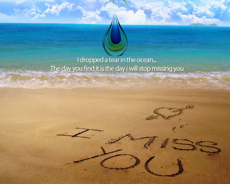 I Miss You   Zee En Strand Achtergrond 36986   HD Wallpaper 1500x1200