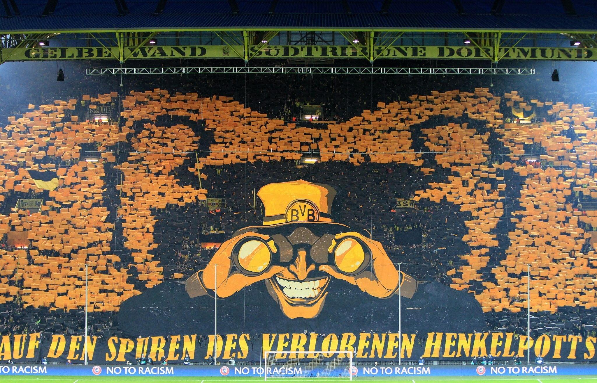 Auf Den Spuren Des Verlorenen Henkelpotts signboard soccer sport 2048x1317