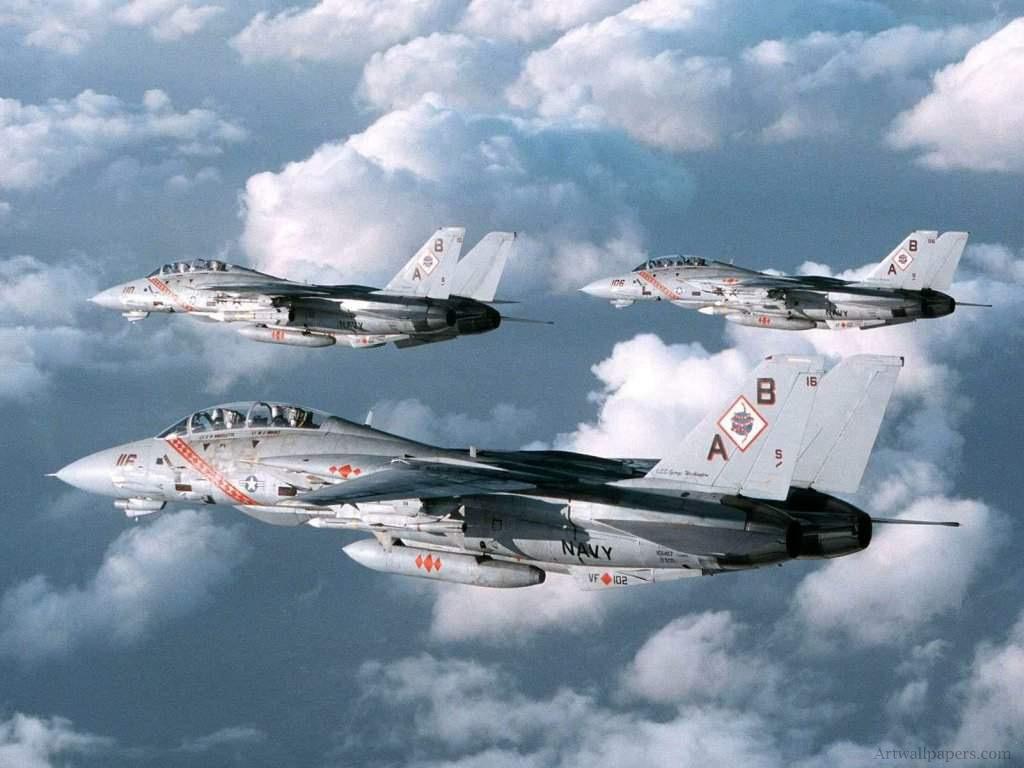 F 14 Tomcat Wallpaper Military