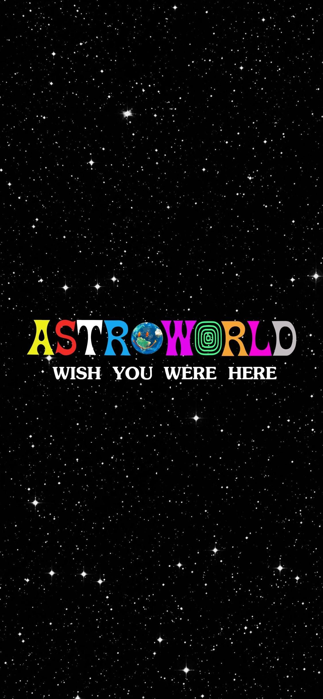 ASTROWORLD Wallpaper travisscottwallpapers in 2020 Painting 1125x2436