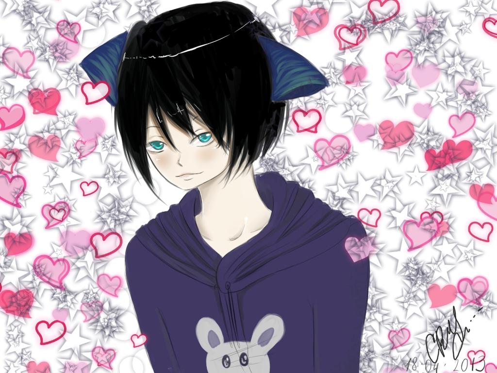 Anime Neko Boy Wallpaper Neko boy by carmelyfairy 1024x768