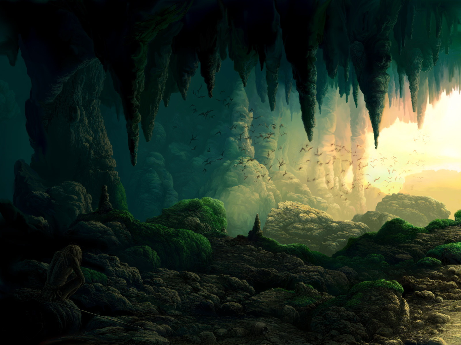 Artful Voyage Caves and Cave Art of Primordial People 1600x1200