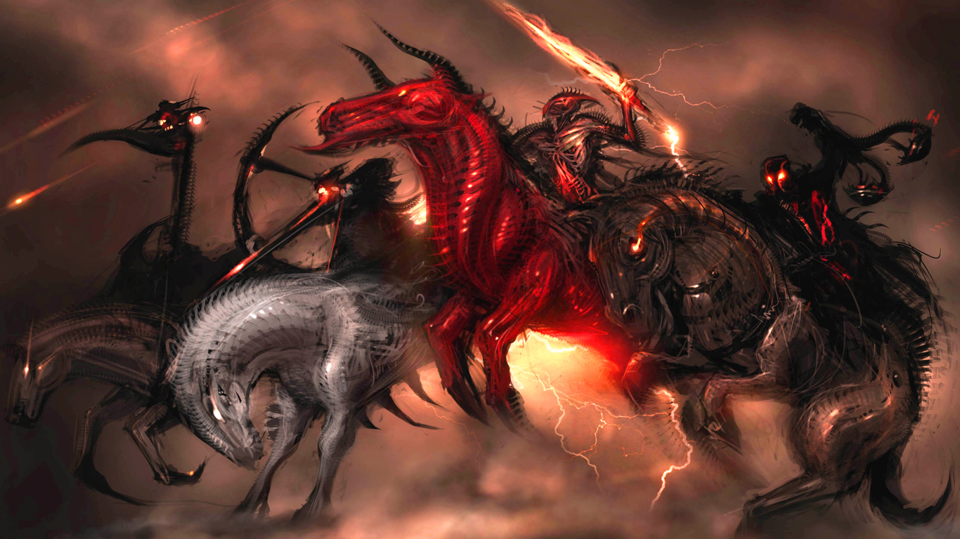 The Four Horsemen Art   ID 52224   Art Abyss 1366x768