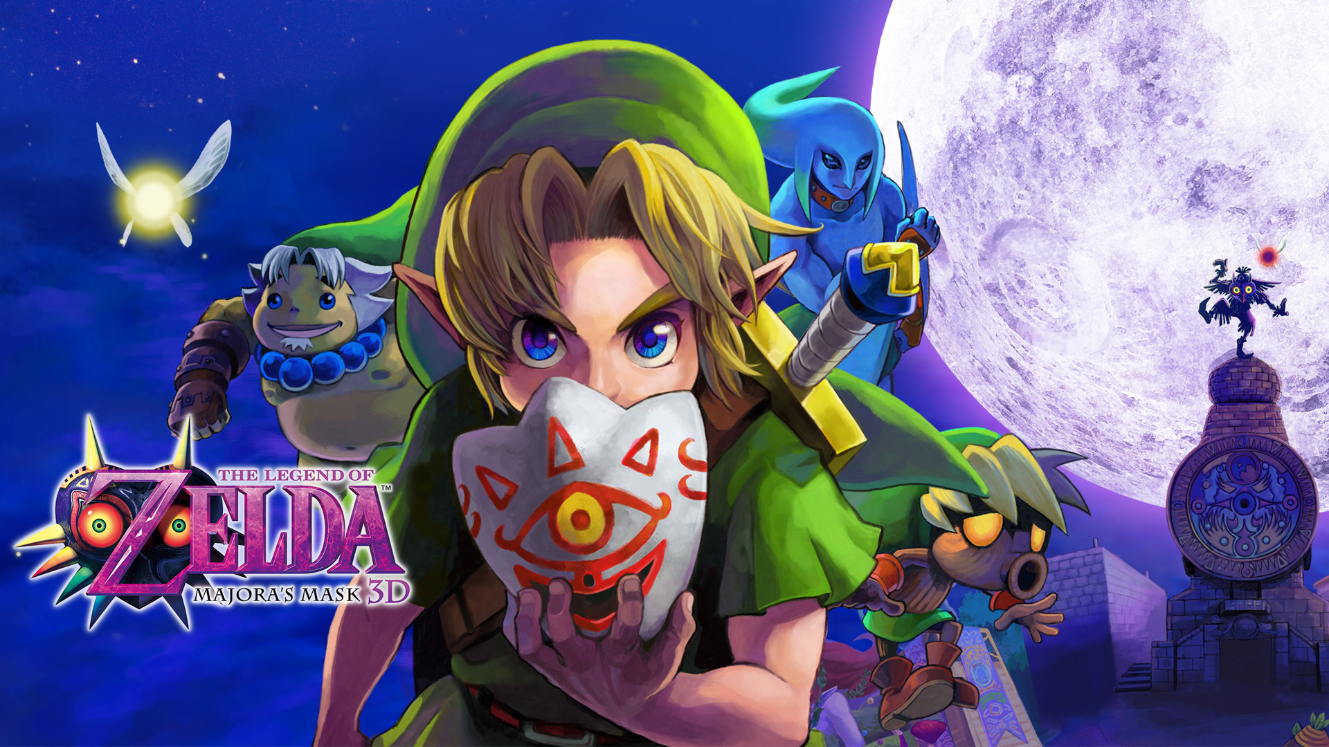 Majora S Mask Desktop Background: Majora S Mask Wallpaper
