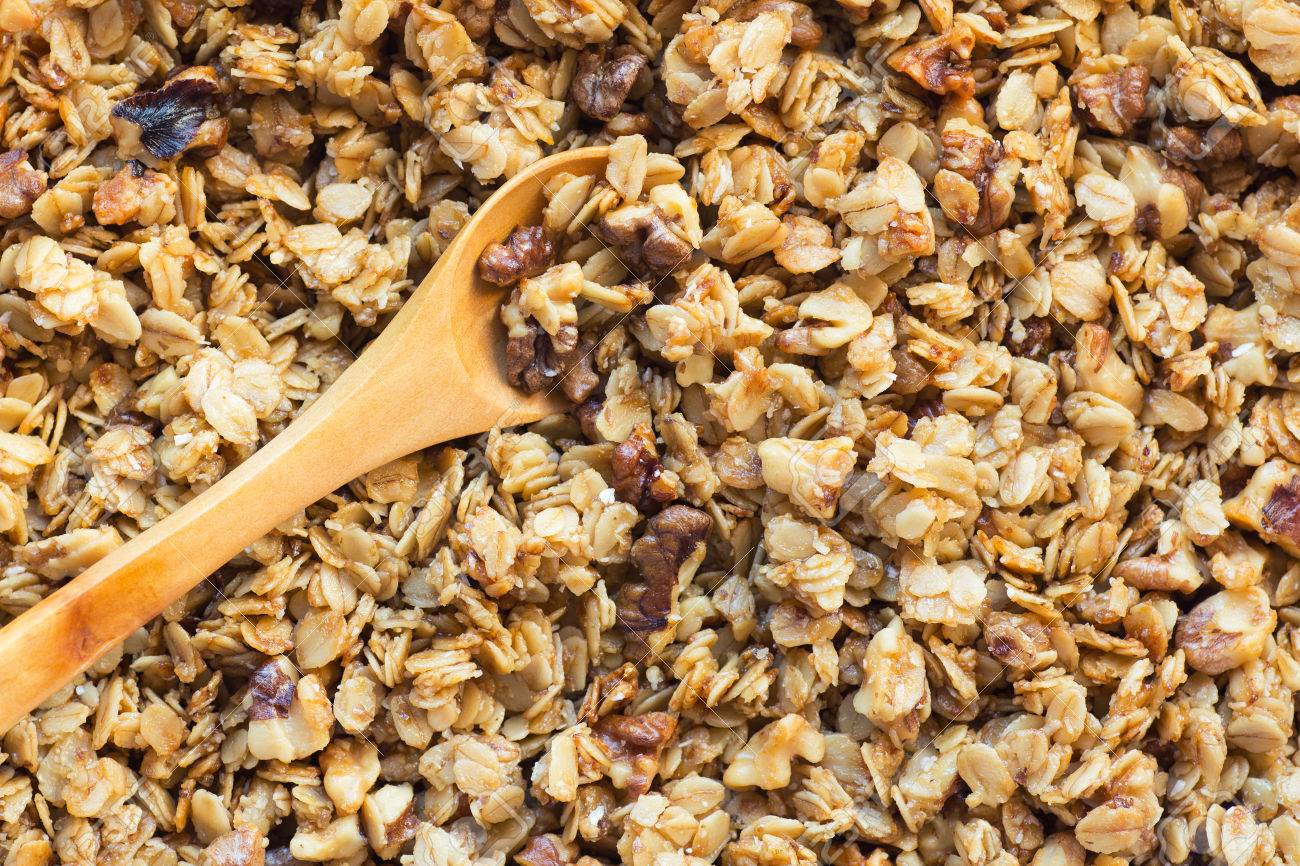 Granola Background Stock Photo Picture And Royalty Image 1300x866