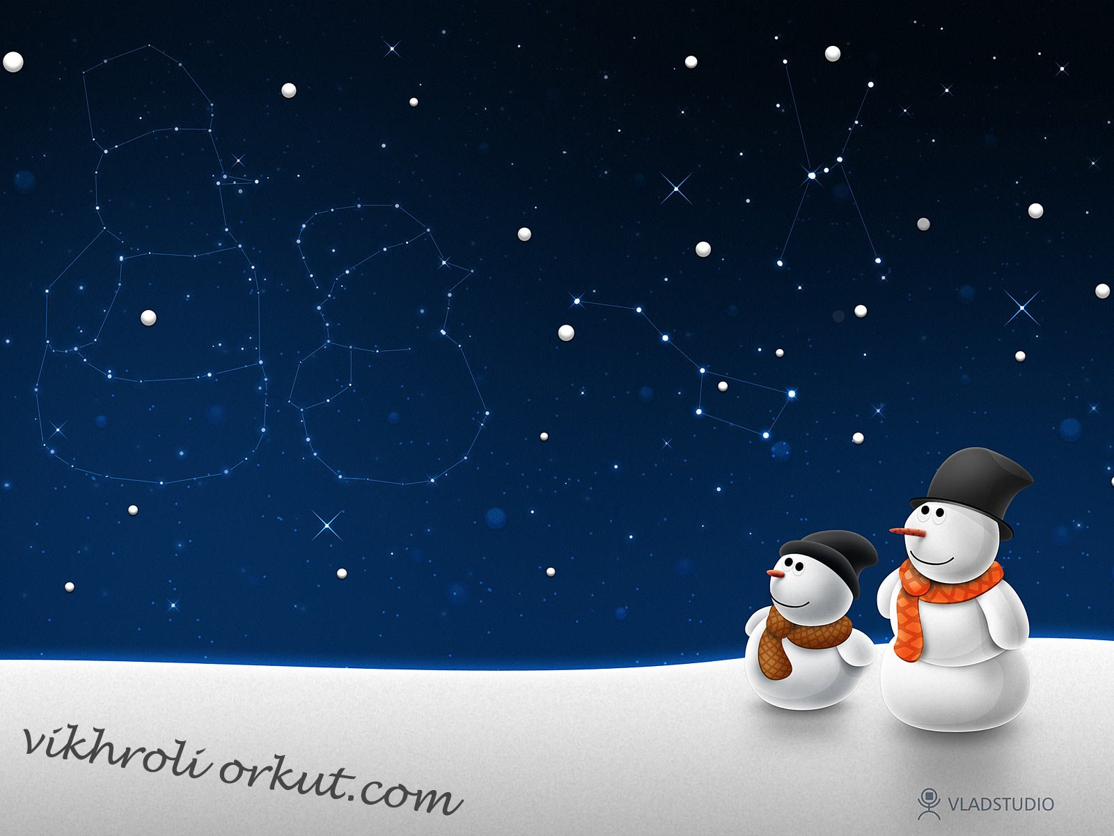 Christmas 3d Vikhroli Orkut Wallpaper 1600x1200