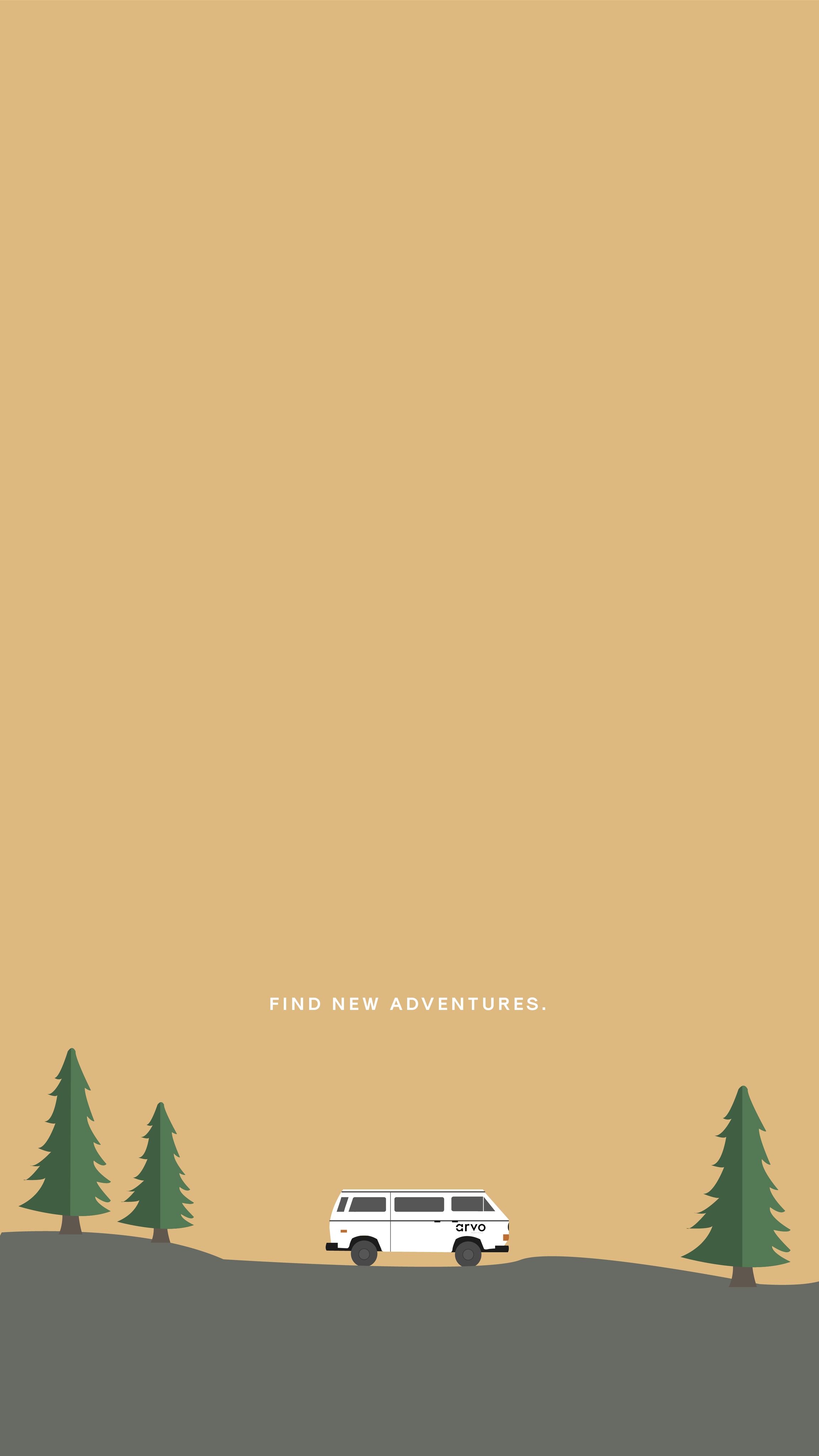 arvowear adventure camping summer forest van arvovan seeker 2303x4096