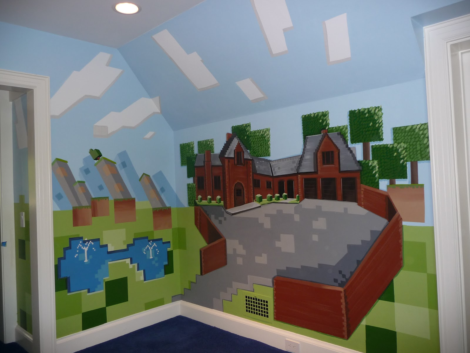 Ideas Minecraft Bedroom Minecraft and Minecraft Room 1600x1200