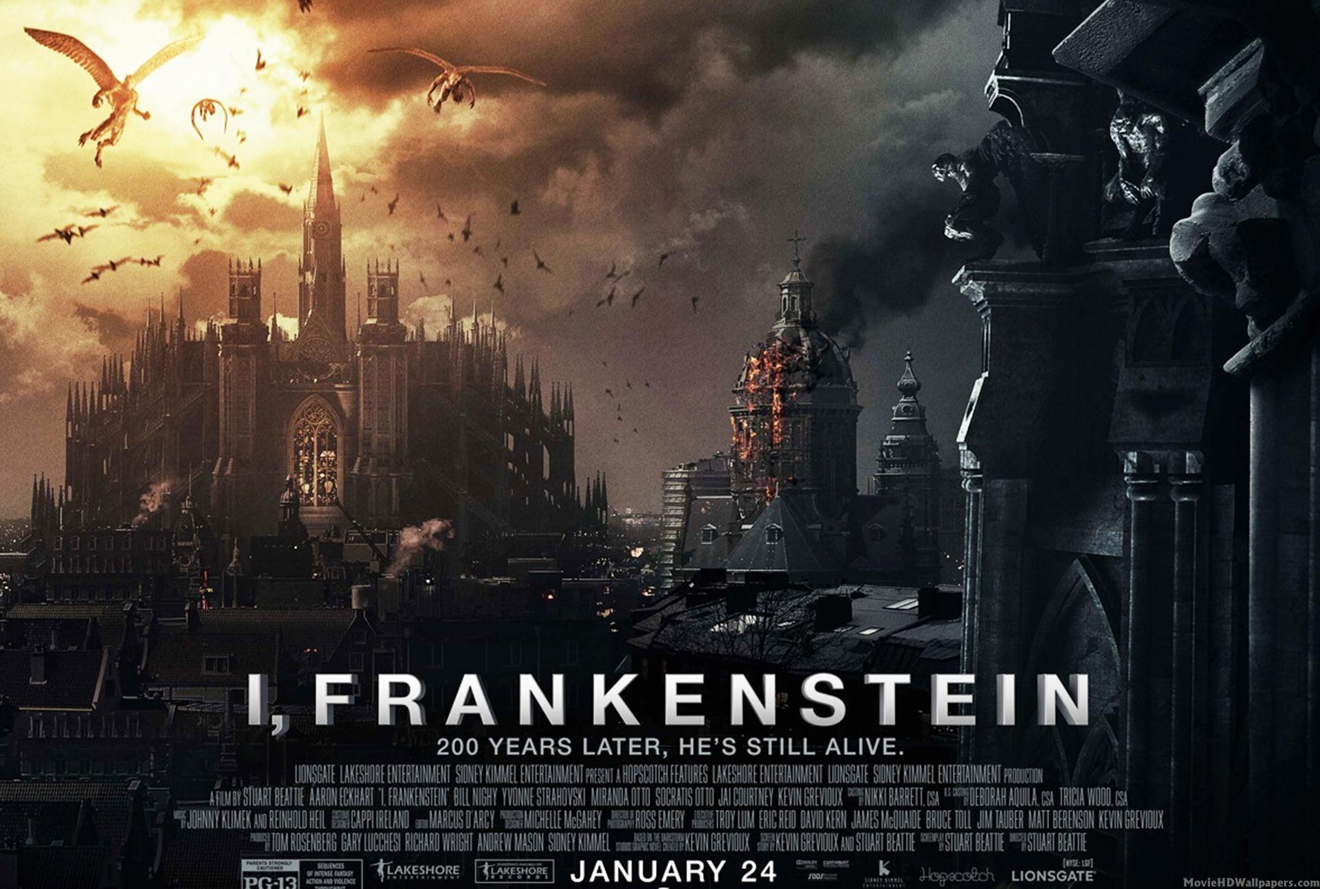 Frankenstein 2014 Movie HD Wallpapers 1920x1294