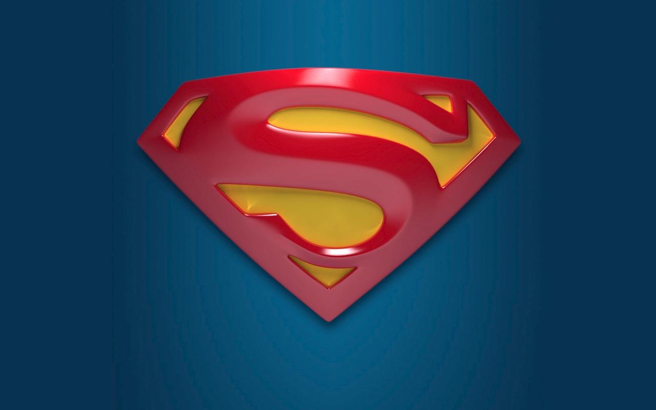Computer wallpaper for wallpaper superman logo 1280x800