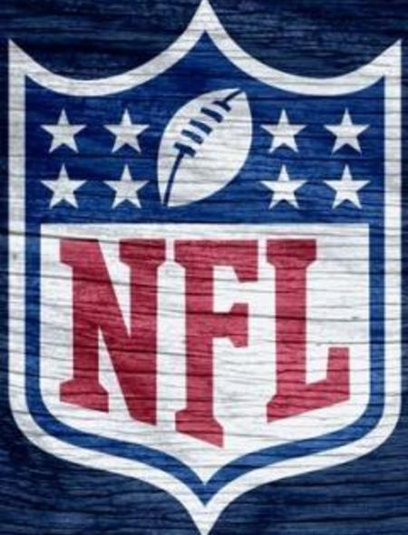 NFL Blue Weathered Wood Wallpaper for Phones and Tablets 450x590