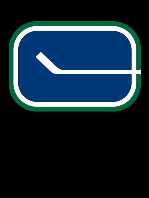 Vancouver Canucks Team Logo Backgrounds for iPhone Blackberry Palm 480x640