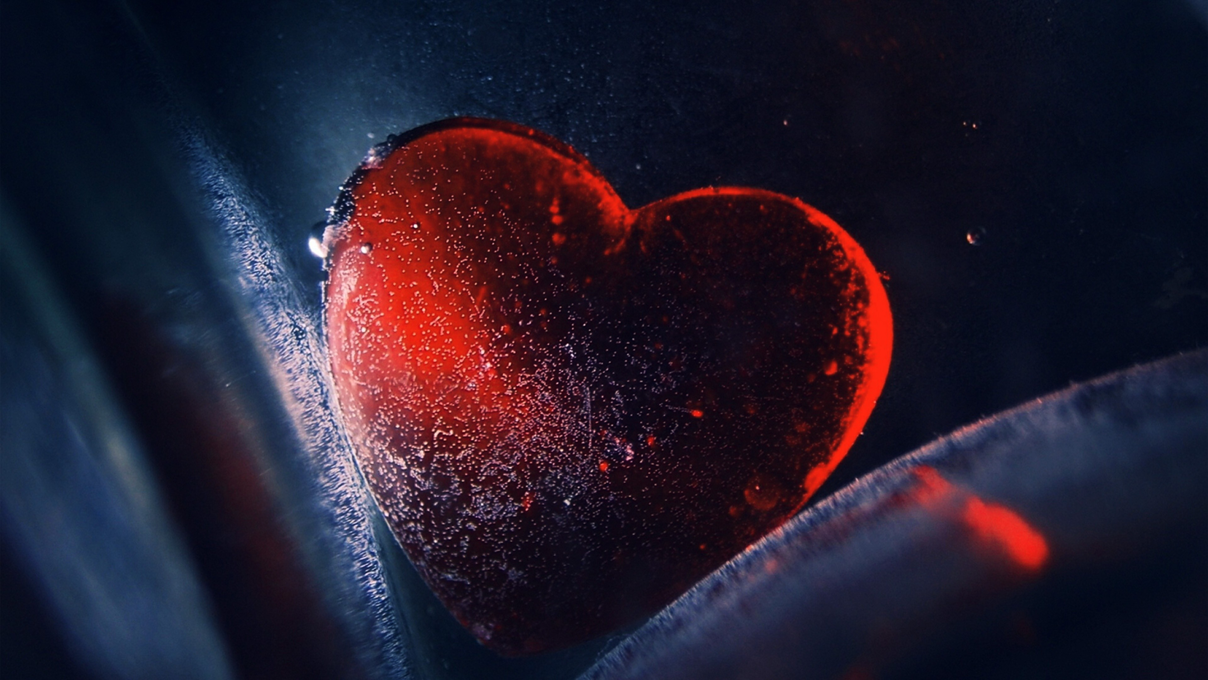 63 Red Heart Wallpapers on WallpaperPlay 3840x2160