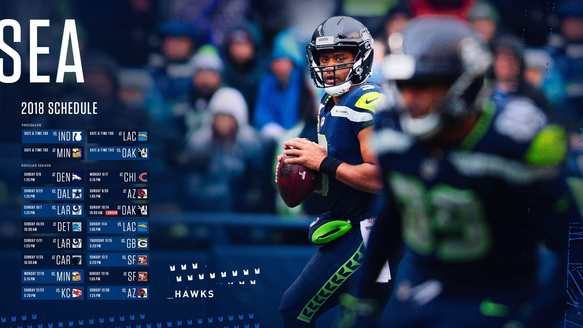 Seattle Seahawks 2018 Wallpapers 1920x1080