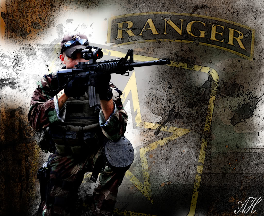 Army Rangers Wallpaper: Airborne Ranger Wallpaper